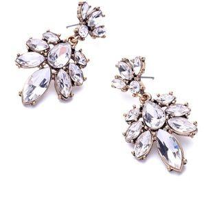 Jewelry - Statement Rhinestone Earrings